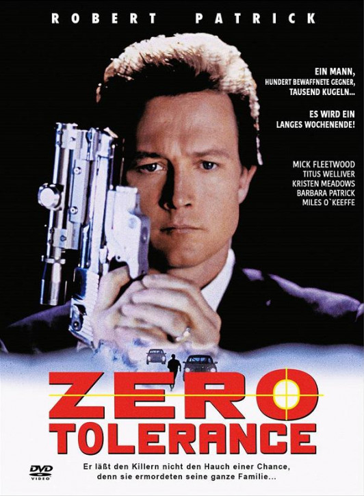 Zero Tolerance - Mediabook - Cover B [DVD]