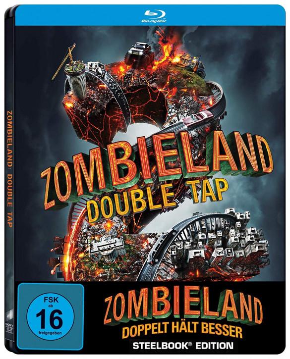 Zombieland: Doppelt hält besser - Steelbook [Blu-ray]