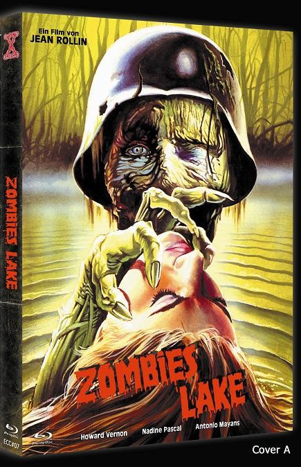 Zombies Lake - Eurocult Collection #007 - Cover A [Blu-ray+DVD]