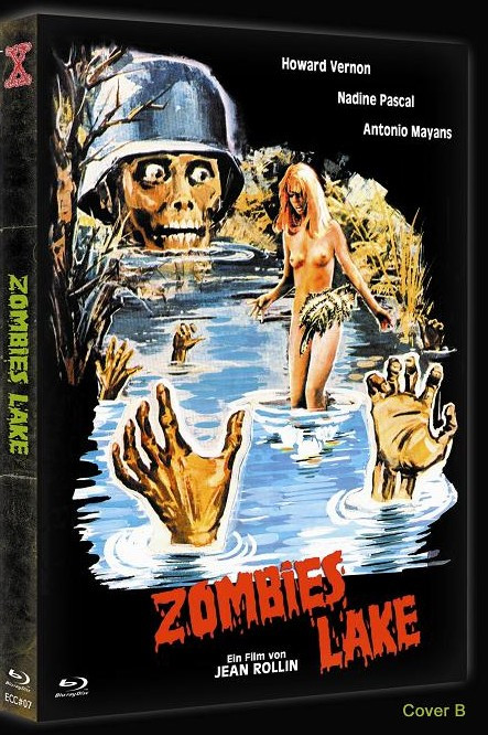 Zombies Lake - Eurocult Collection #007 - Cover B [Blu-ray+DVD]
