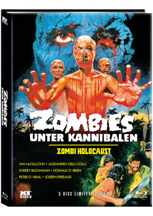 Zombies unter Kannibalen - Limited Mediabook - Cover A [Blu-ray+DVD]