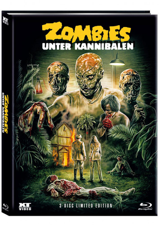 Zombies unter Kannibalen - Limited Mediabook - Cover B [Blu-ray+DVD]
