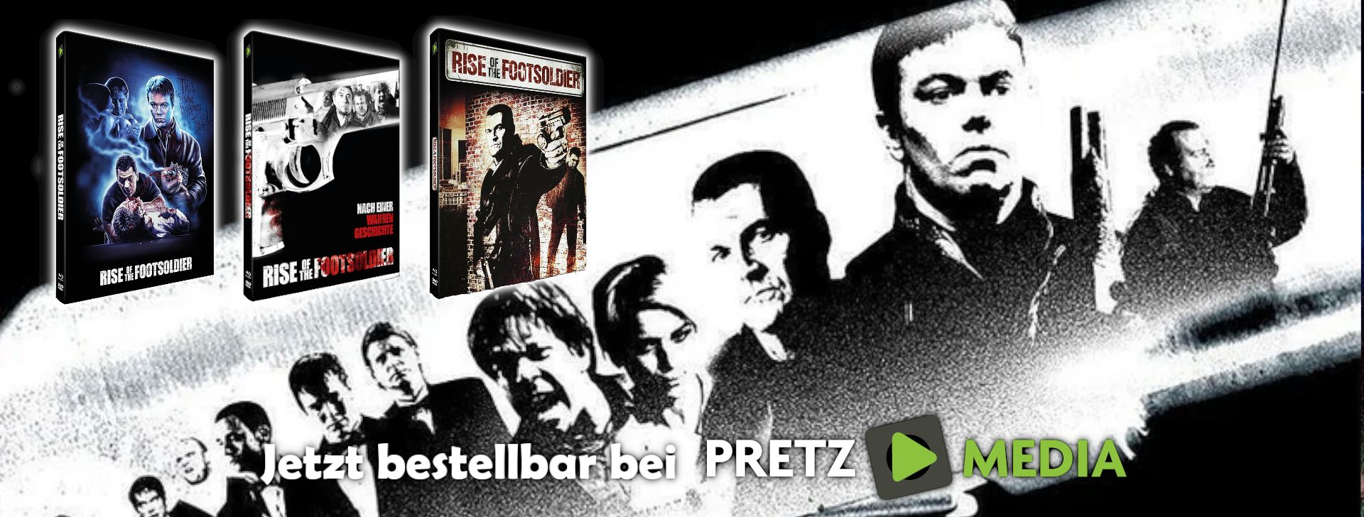 Rise of the Footsoldier - Limited Mediabook