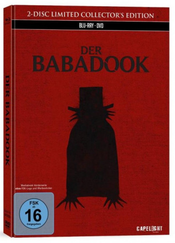 Der Babadook 2 Disc Limited Collector S Edition Bluray Dvd
