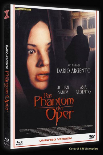 Phantom der Oper - Eurocult Collection #020 - Cover B [Blu-ray+DVD]