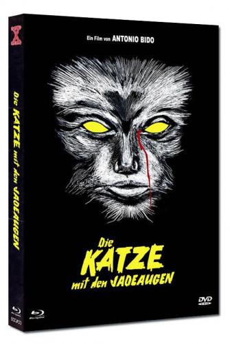 Die Katze mit den Jadeaugen - Eurocult Collection #033 - Mediabook - Cover B [Blu-ray+DVD]