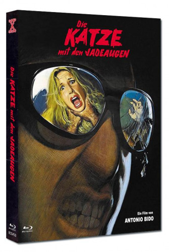 Die Katze mit den Jadeaugen - Eurocult Collection #033 - Mediabook - Cover C [Blu-ray+DVD]