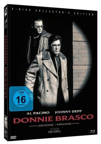 Donnie Brasco - 3 Disc Limited Mediabook Edition - Cover A [Blu-ray+DVD]