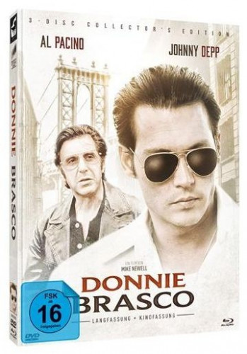 Donnie Brasco - 3 Disc Limited Mediabook Edition - Cover B [Blu-ray+DVD]