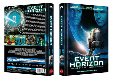 Event Horizon 2 Disc Remastered Collector S Edition Cover A Blu