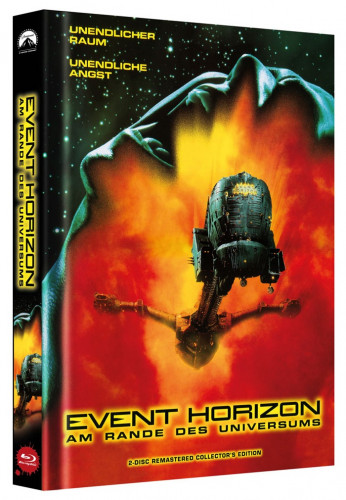Event Horizon 2 Disc Remastered Collector S Edition Cover B Blu