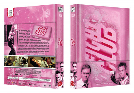 Fight Club 2 Disc Limited Soap Edition Blu Ray Dvd