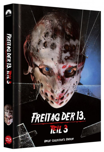 Freitag der 13. - Teil 3 - Limited Collectors Edition Mediabook - Cover C [Blu-ray]