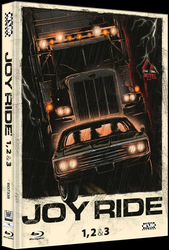 Joy Ride 1-3 Tripple Feature - Limited Collector's Edition - Cover A [Bluray]