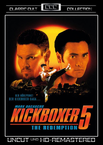 kickboxer 5 classic cult collection dvd