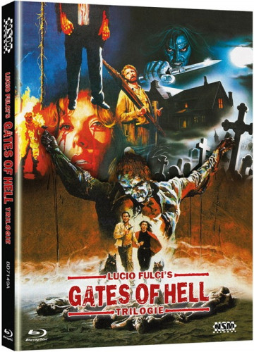 Lucio Fulcis - Gates of Hell - Trilogie - 3-Disc Mediabook - Cover A [Blu-ray]