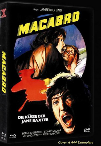 Macabro - Eurocult Collection #018 - Cover A [Blu-ray+DVD]