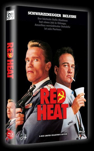 Red Heat - 2-Disc Limited Collector's Edition - große Hartbox - Cover A [Blu-ray+DVD]
