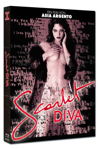 Scarlet Diva - Eurocult Collection #037 - Mediabook - Cover A [Blu-ray+DVD]