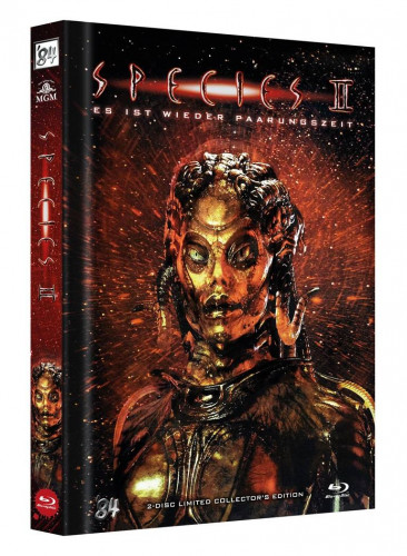 Species 2 - Limited Collectors Edition Mediabook - Cover C [Blu-ray+Bonus DVD]