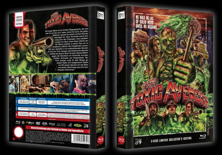 The Toxic Avenger 3 Disc Limited Collector S Edition