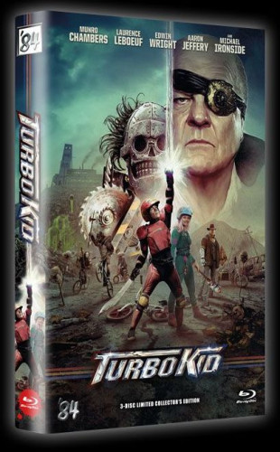 Turbo Kid - 3-Disc Limited Collector's Edition - große Hartbox - Cover A [Blu-ray+DVD]
