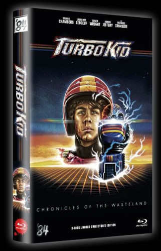 Turbo Kid - 3-Disc Limited Collector's Edition - große Hartbox - Cover B [Blu-ray+DVD]