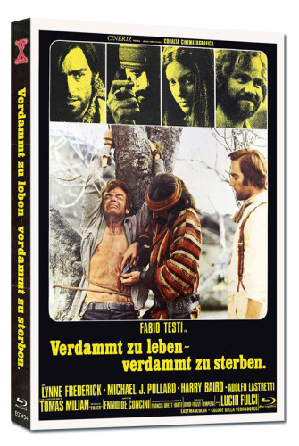Verdammt zu Leben - Verdammt zu Sterben - Eurocult Collection #034 - Mediabook - Cover C [Blu-ray+DVD]