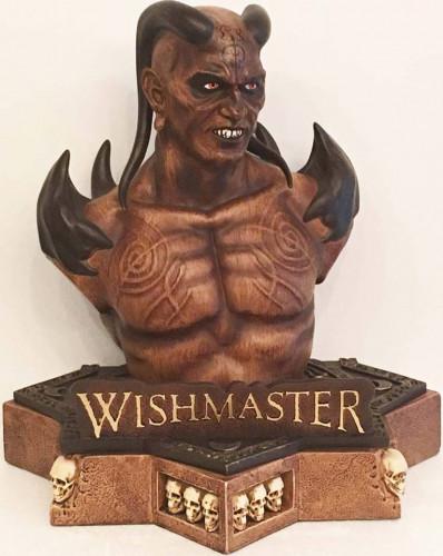 Whishmaster - Büste inkl. 2-Disc Mediabook [Blu-ray+DVD]